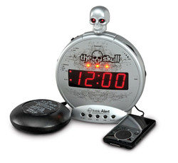 the skull alarm clock